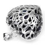 Кольцо Amber бриллиант сердце 0,4 карата