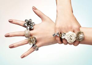 кольца и руки