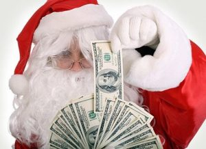 Новогодние доллары
