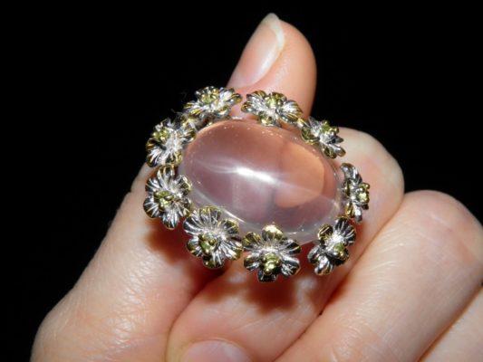 Сердечный целитель розовый кварц
