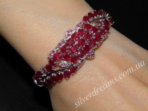 Рубиновый браслет купить в Украине