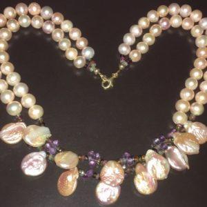 Жемчужное ожерелье купить в Украине