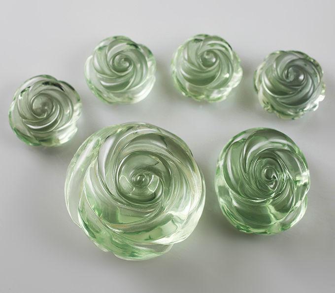 розы из празиолита