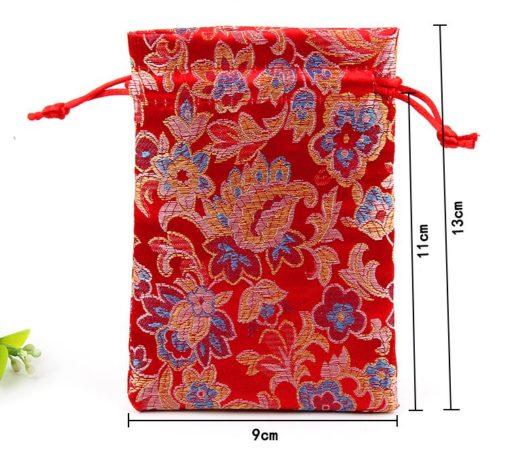 Подарочный мешочек из парчи