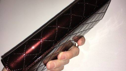 коричневый кожаный кошелёк