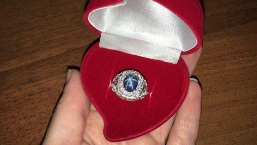 Коробочка сердце под кольцо