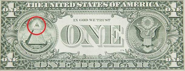 Американский доллар и всевидящее око