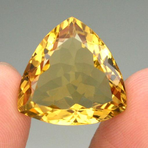 Натуральный цитрин триллиант