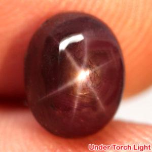 Натуральный звёздчатый рубин 5,25 кт