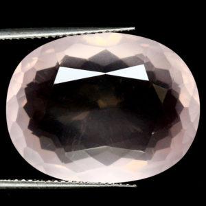 Натуральный розовый кварц 23,07 кт